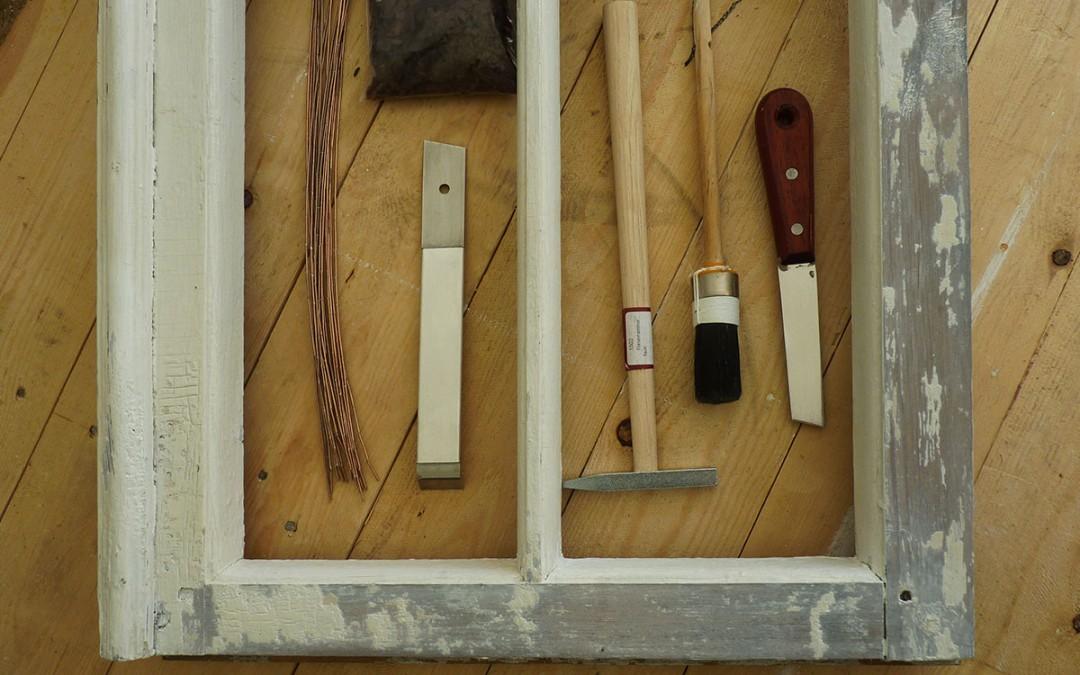 Vanade akende restaureerimine – praktika.