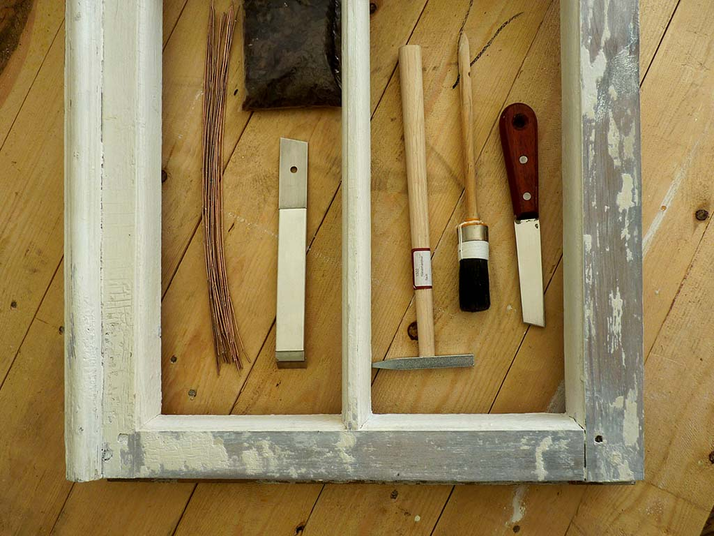 akna restaureerimiseks