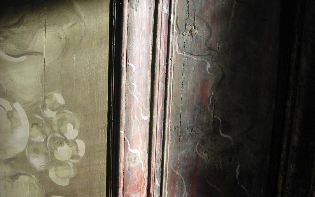 Lihtne (talu) marmoreering ja aaderdus puitpindadele.