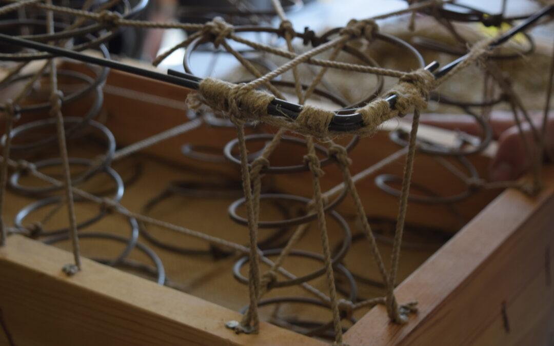 Pehme mööbli restaureerimine, osa 2
