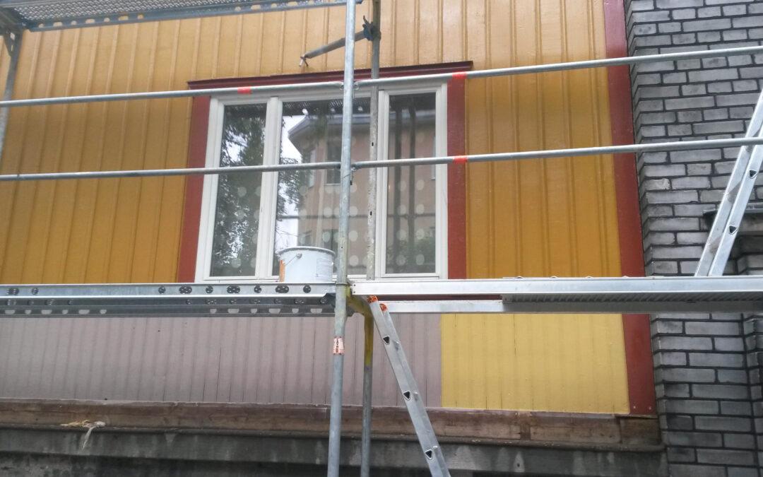 Puitmaja fassaadide korrastamisest